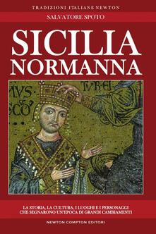 Sicilia normanna - Salvatore Spoto - copertina