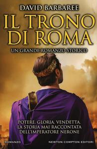 Il trono di Roma - David Barbaree - copertina