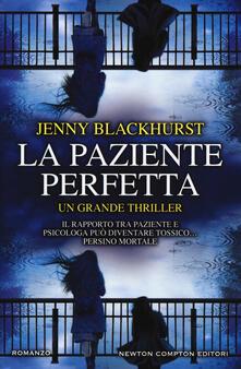 La paziente perfetta - Jenny Blackhurst - copertina