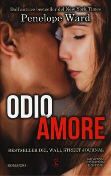 Odioamore - Penelope Ward - copertina
