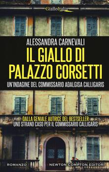Il giallo di Palazzo Corsetti - Alessandra Carnevali - copertina