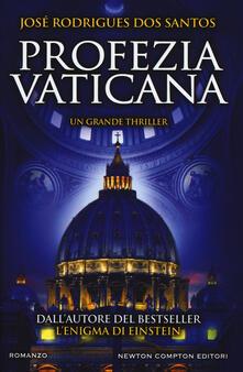 Profezia vaticana - José Rodrigues Dos Santos - copertina