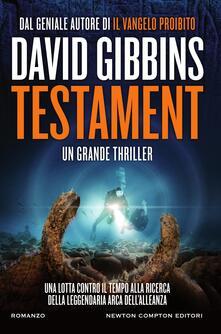 Testament - David Gibbins,Lucilla Rodinò - ebook