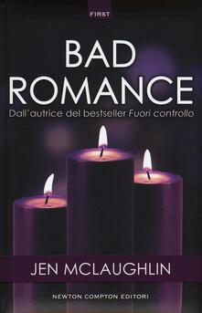 Bad romance - Jen McLaughlin - copertina