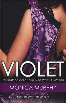 Violet. The Fowler sisters series - Monica Murphy - copertina