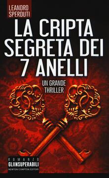 La cripta segreta dei 7 anelli - Leandro Sperduti - copertina