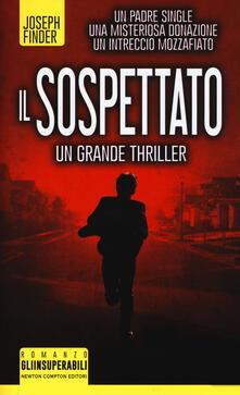 Il sospettato - Joseph Finder - copertina