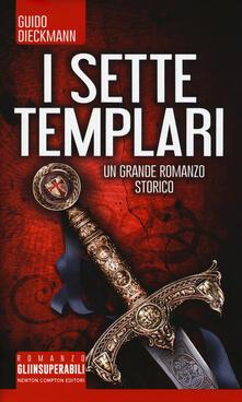 I sette templari - Guido Dieckmann - copertina