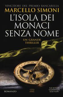 L' isola dei monaci senza nome - Marcello Simoni - copertina