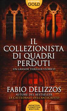 Il collezionista di quadri perduti - Fabio Delizzos - copertina