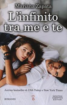 L' infinito tra me e te - Mariana Zapata - copertina