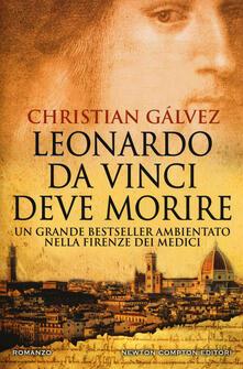 Leonardo da Vinci deve morire - Christian Gálvez - copertina