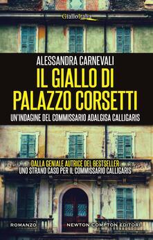 Il giallo di Palazzo Corsetti - Alessandra Carnevali - ebook