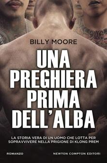 Una preghiera prima dell'alba - Billy Moore - copertina