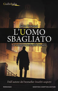 L' uomo sbagliato - Salvo Toscano - copertina