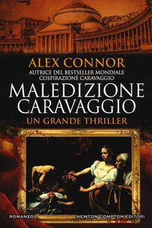 Maledizione Caravaggio - Alex Connor - copertina