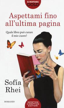 Aspettami fino all'ultima pagina - Sofía Rhei - copertina