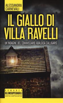 Il giallo di villa Ravelli - Alessandra Carnevali - copertina
