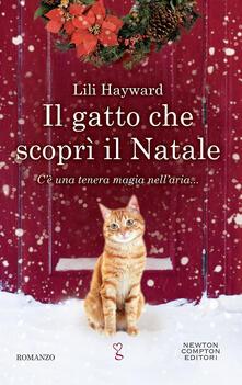 Il gatto che scoprì il Natale - Lili Hayward - copertina