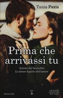 Prima che arrivassi tu - Tania Paxia - copertina