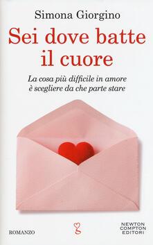 Sei dove batte il cuore - Simona Giorgino - copertina