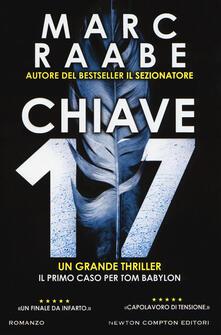 Chiave 17 - Marc Raabe - copertina