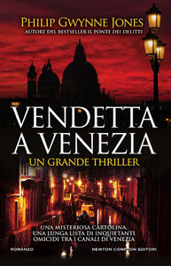 Libro Vendetta a Venezia Philip Gwynne Jones