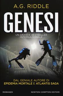 Genesi - A. G. Riddle - copertina