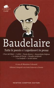 Listadelpopolo.it Tutte le poesie e i capolavori in prosa. Testo francese a fronte. Ediz. integrale Image