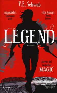 Legend - V. E. Schwab - copertina