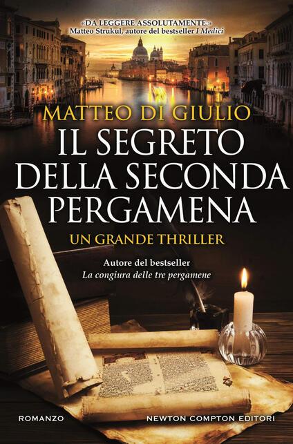 Il segreto della seconda pergamena - Matteo Di Giulio - copertina