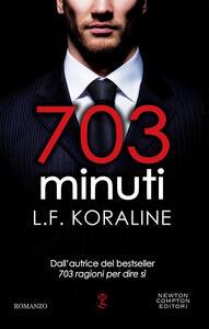 703 minuti - L. F. Koraline - copertina