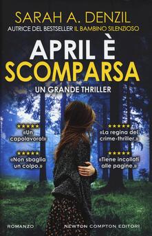 April è scomparsa - Sarah A. Denzil - copertina