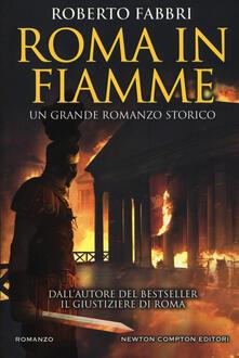 Roma in fiamme - Roberto Fabbri - copertina