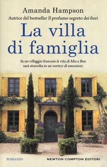 La villa di famiglia - Amanda Hampson - copertina