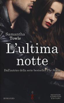 L' ultima notte - Samantha Towle - copertina