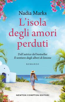 L' isola degli amori perduti - Nadia Marks - copertina