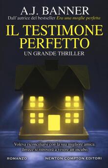 Il testimone perfetto - A. J. Banner - copertina