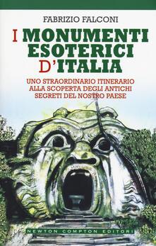 I monumenti esoterici d'Italia - Fabrizio Falconi - copertina