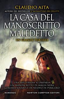 La casa del manoscritto maledetto - Claudio Aita - copertina