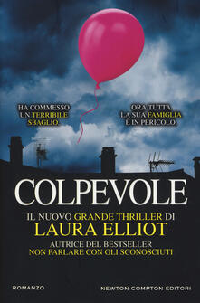 Colpevole - Laura Elliot - copertina