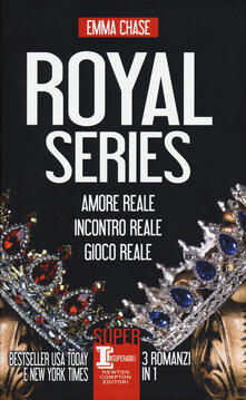 Royal series: Amore reale-Incontro reale-Gioco reale - Emma Chase - copertina