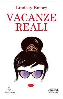 Vacanze reali - Lindsay Emory - copertina