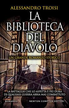 La biblioteca del diavolo - Alessandro Troisi - copertina