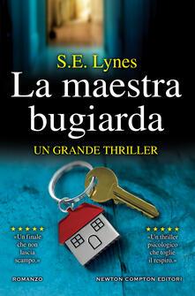 La maestra bugiarda - S.E. Lynes - copertina