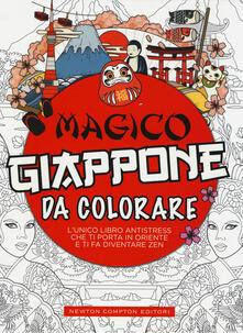Magico Giappone da colorare. Ediz. illustrata - copertina