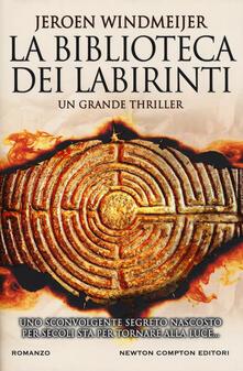 La biblioteca dei labirinti - Jeroen Windmeijer - copertina