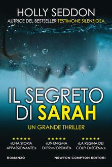 Il segreto di Sarah - Holly Seddon - copertina