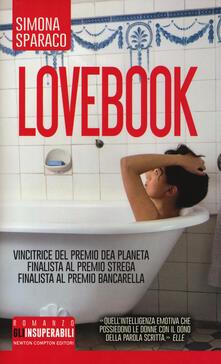 Lovebook - Simona Sparaco - copertina
