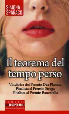 Il teorema del tempo perso - Simona Sparaco - copertina